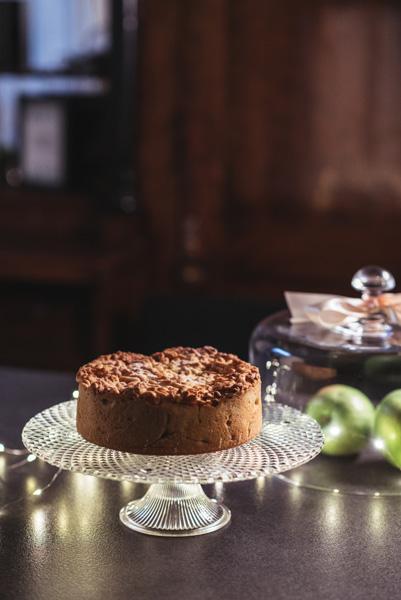 Trapios tešlos obuolių pyragas
